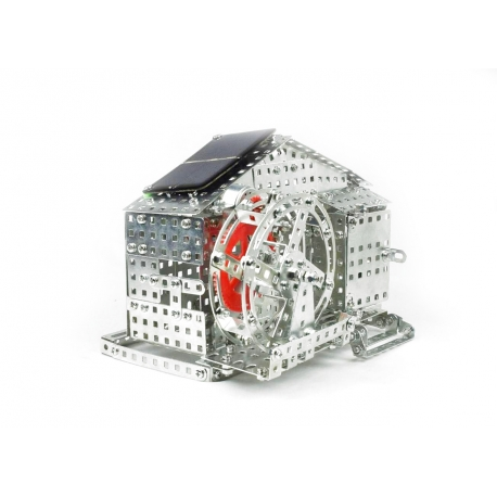 Water Mill with Solar Cell   625 parts