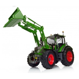 """Fendt 516 Vario with Front Loader (new """"Nature Green"""" color)"""