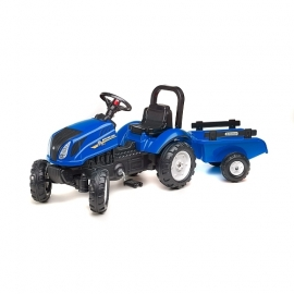 New Holland T6 with Trailer
