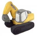Case CE Excavator Plush Toy