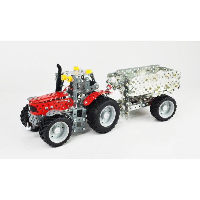 Massey Ferguson 5430 with Trailer (669 parts)