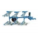 Lemken Opal 090 3-Furrow Reversible Plough (Slatted)
