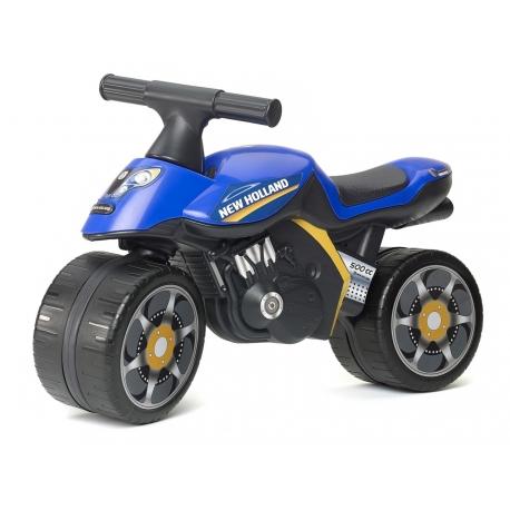 New Holland Push-Along Motorcycle