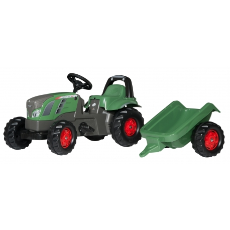 Fendt 516 Vario Pedal Tractor with Trailer