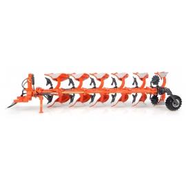 Kubota RM3005V 6-Furrow Reversible Mounted Plow Diecast Replica - 1:32 Universal Hobbies