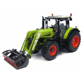 Claas Arion 530 with Front Loader