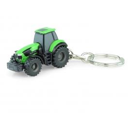Deutz-Fahr Agrotron 9340 TTV Tractor - Keychain Diecast - Universal Hobbies