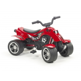 Pirate Pedal Quad bike - Red -