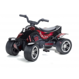 Pirate Pedal Quad Bike - Black -