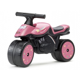 Motorcycle - Rainbow Star Push-Along Motorcycle - Pink