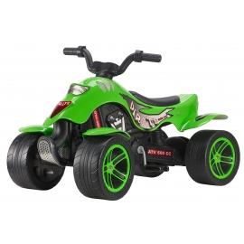 Pirate Pedal Quad Bike Green
