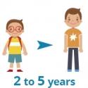 2 à 5 ans